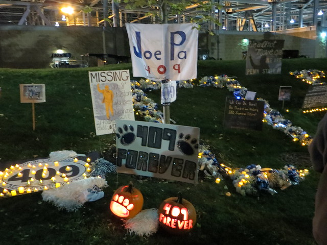 JoePa display night