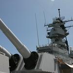 Big guns, Missouri, Oahu