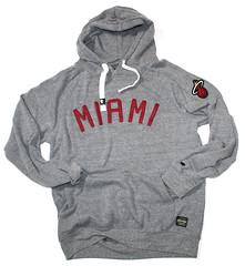 Sportiqe Black Label Miami Heat Sweatshirt