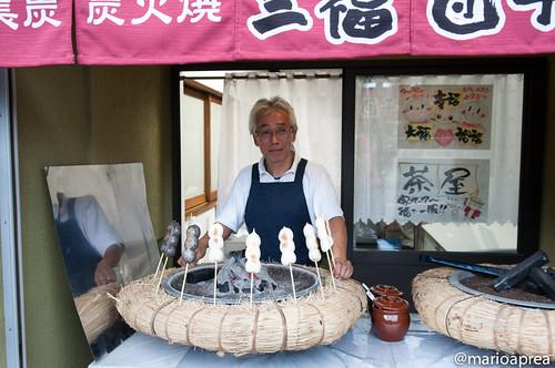 Il venditore di yakidango