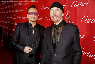 Bono and The Edge at PSIFF