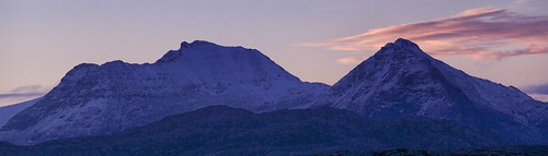 Dawn.  An Teallach. by jimlaide