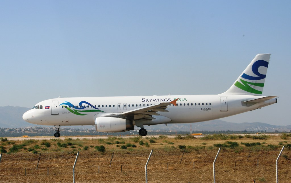 SKYWINGS ASIA AIRWAYS 320-200 XU-ZAB(cn476)