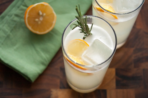Little Miss Sunshine: Meyer Lemon Rosemary Gin Fizz for #CocktailDay ...