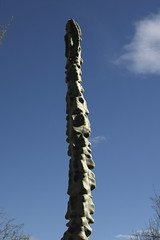 Totem Pole Cactus in the Demonstration Garden
