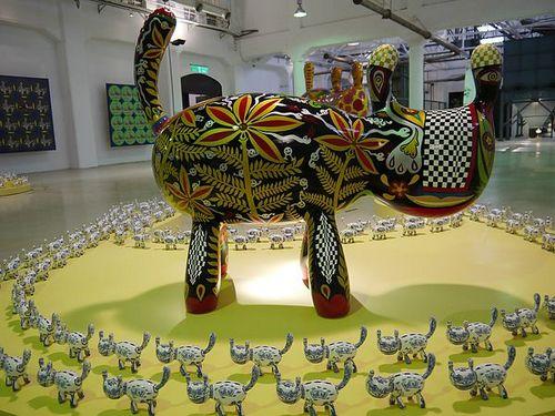 【春节活动】台中71快乐动物派对71室内展厅开趴