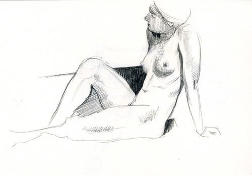 joelle at redline life drawing