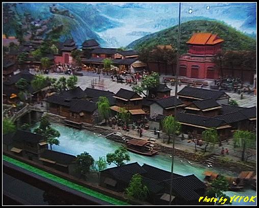 杭州 吳山天風景區 - 064 (城隍閣 內的南宋時期的杭州風情軟木立體畫))
