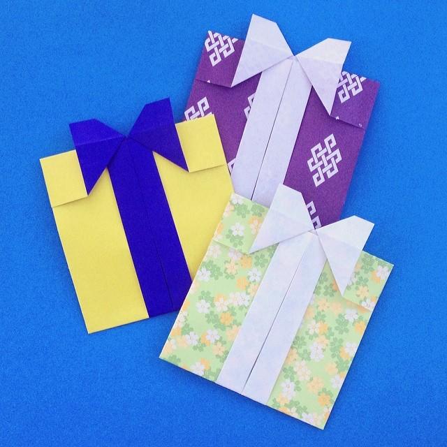 Gift Box Shaped Envelopes By Shoko Aoyagi From The Bos February 2014