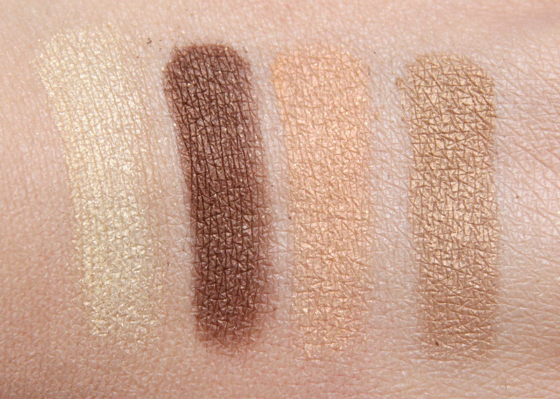 MAC Golden hours mineralize eyeshadow swatch