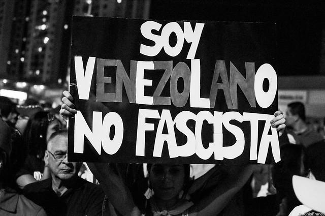 Protesta en apoyo a los Estudiantes