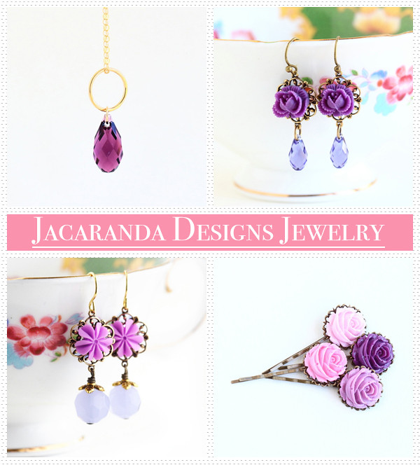 Jacaranda Designs Jewelry giveaway winner announcement | Emma Lamb