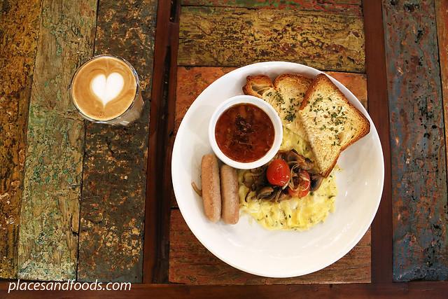 wood and steel breakfast