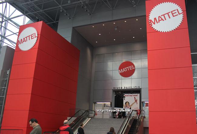 Mattel's Pavilion - NY Toy Fair 2014