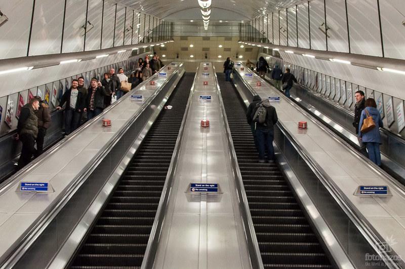 Fotos del metro de Londres