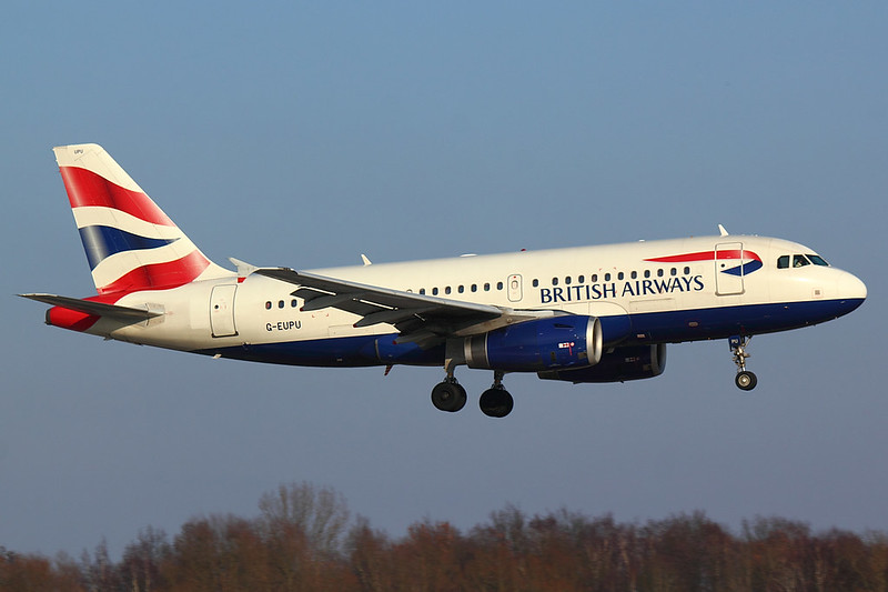British Airways - A319 - G-EUPU