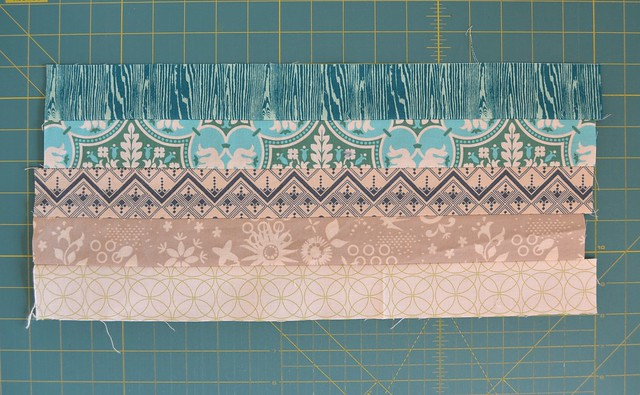 Blended Scraps Block - Tutorial 2