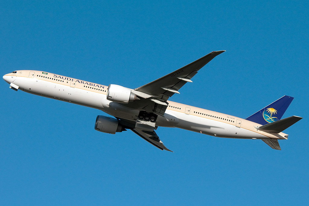 HZ-AK14 - B77W - Saudi Arabian Airlines