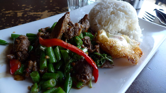 Braised Beef With Spicy Basil