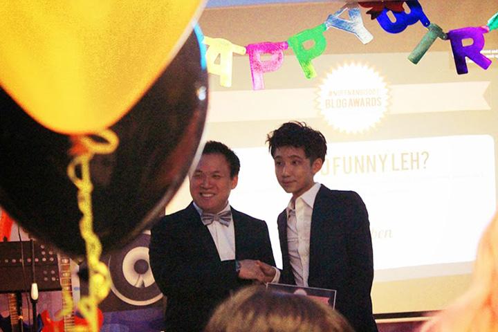 typicalben get award