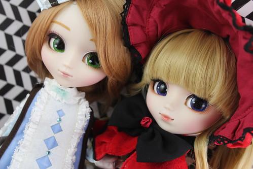 Rozen Maiden Keikujaku & Shinku