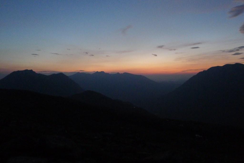 First light over An Teallach