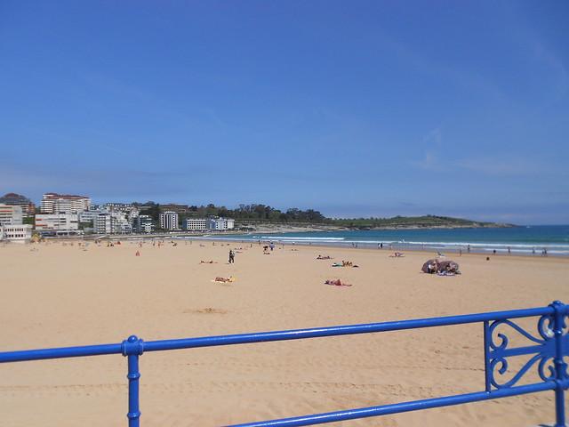 Playa Segunda del Sardinero, Santander