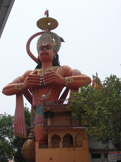 Complete view of 108 Foot Sankat Mochan Dham