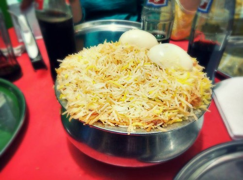 To End It All With Biryani  - Pic Courtesy Ankit Becks