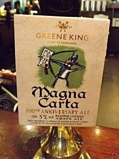 Green King, Magna Carta, England