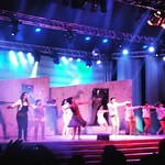 Musical Mama Mia! na Concha Acústica do Parque do Taquaral. #campinas