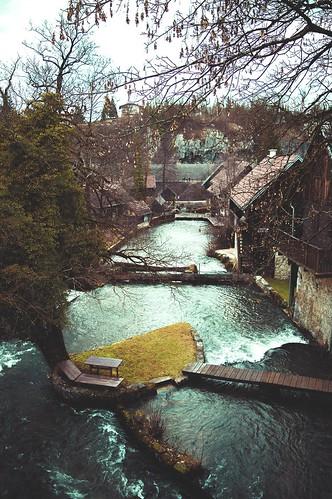 Living among the waterfalls in Rastoke, Croatia