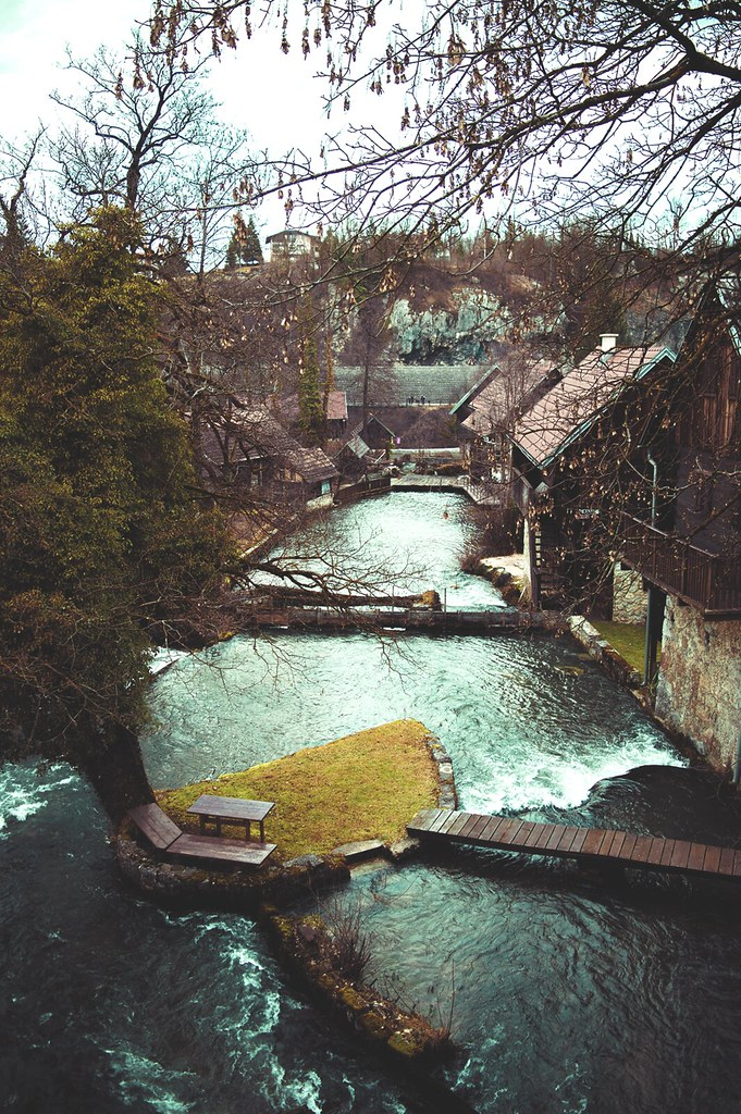 Living among the waterfalls in Rastoke, Croatia