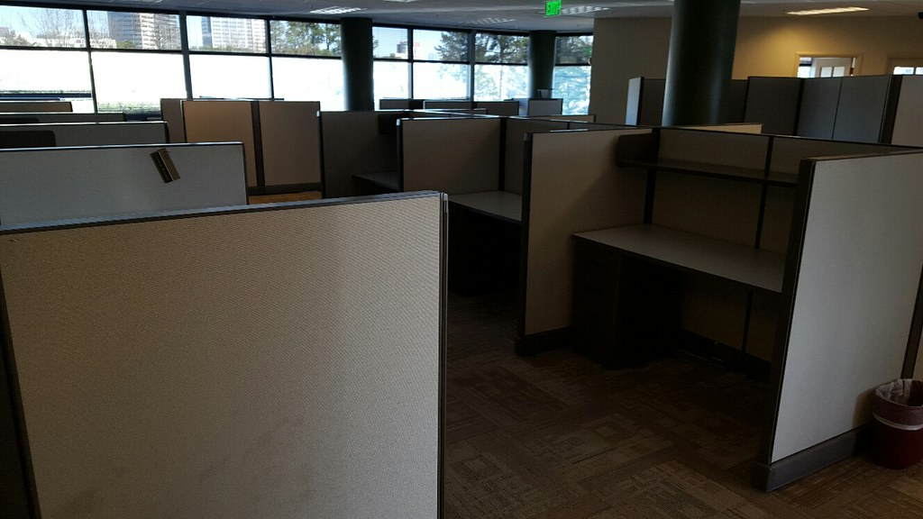 Herman Miller Partitions Removal Alpharetta - Green Junk Removal & Recycling