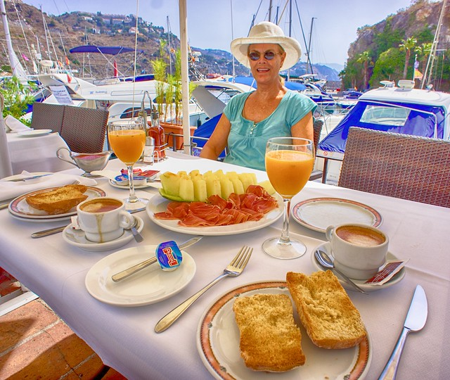 Breakfast, La Herradura