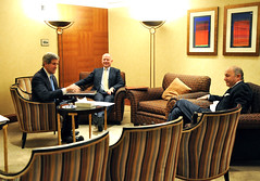 Secretary Kerry Meets With British Foreign Secretary Hague and French Foreign Minister Fabius