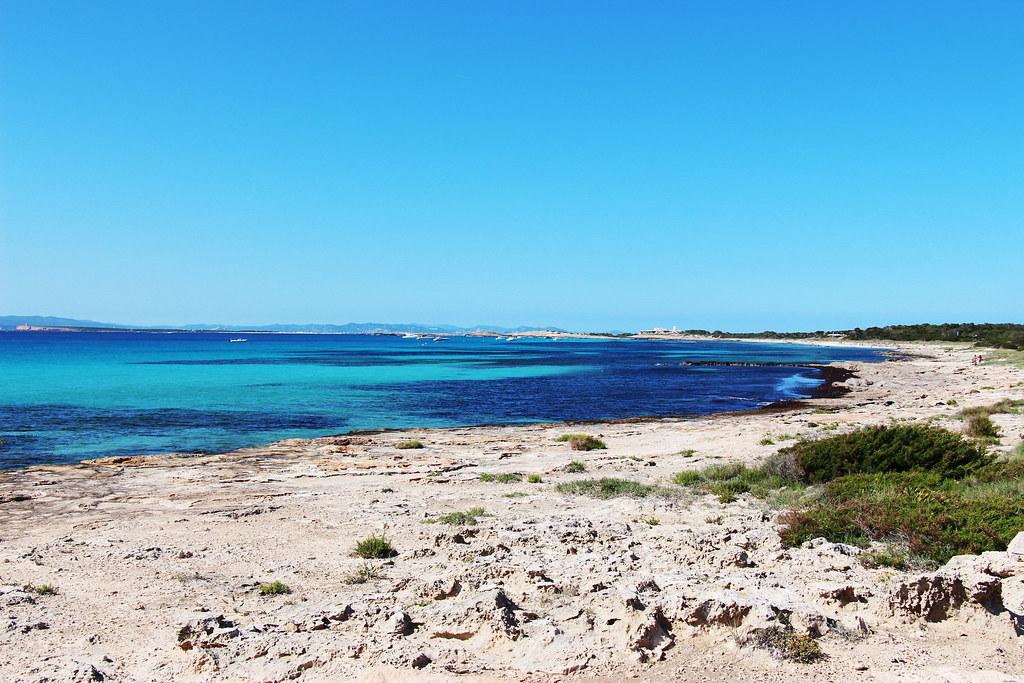 Ibiza beach picture