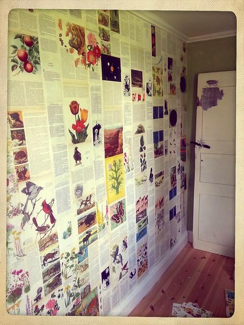 Färdig vägg