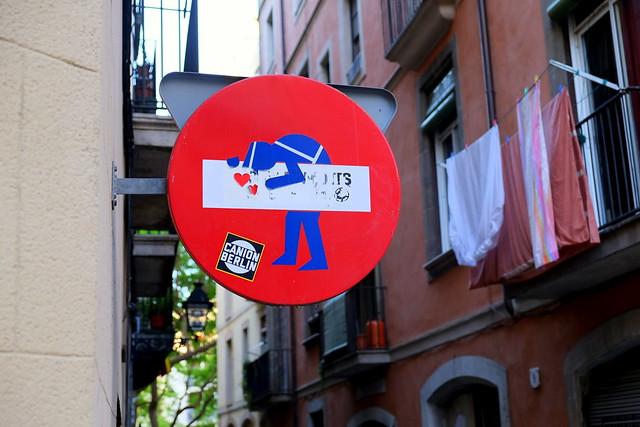 streetart   clet abraham   barcelona