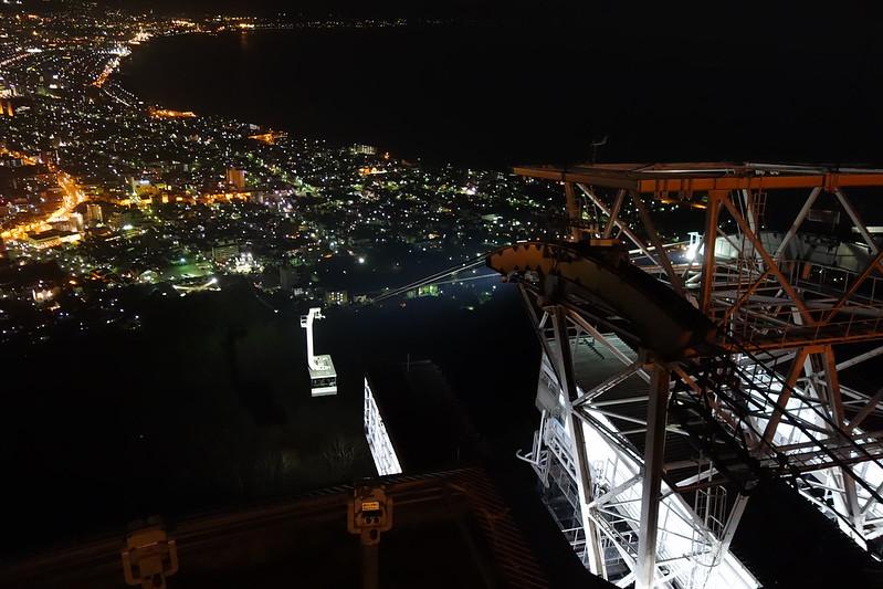 函館山ロープウェイ 山頂站