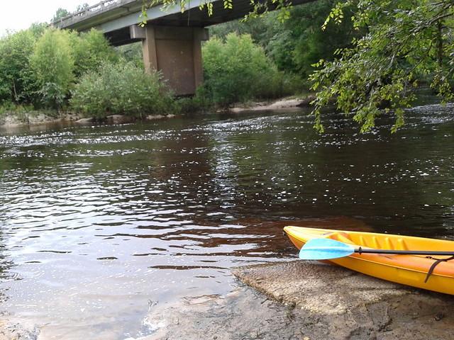 Withlacoochee River at Clyattville-Nankin Landing