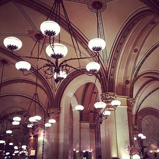 Image of Heinrich Ferstel. vienna wien architecture square austria design cafe interior heinrich von ceiling squareformat stadt cafecentral amaro innere ferstel iphoneography instagramapp uploaded:by=instagram foursquare:venue=4b058890f964a520afcd22e3