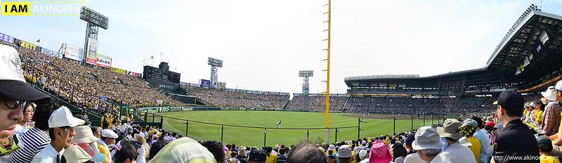 阪神甲子園球場全景(Koshien Stadium)