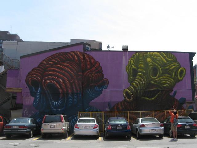 Mural Boulevard St-Laurent