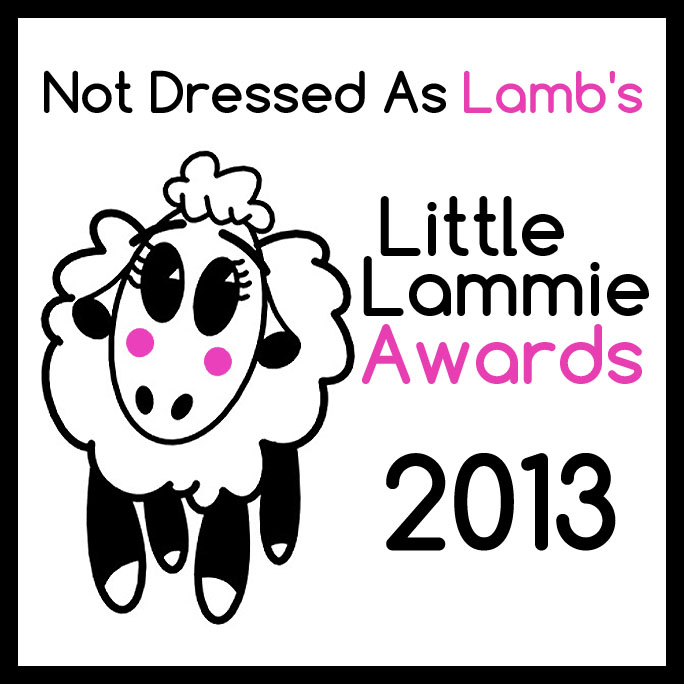 Not Dressed As Lamb Little Lammie Awards