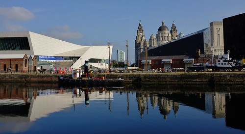 Liverpool Waterfront on a Sunny Day