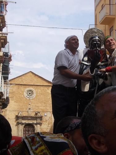 La festa di san Calogero - sorrisi. E la chiesa di San Girolamo ad Agrigento