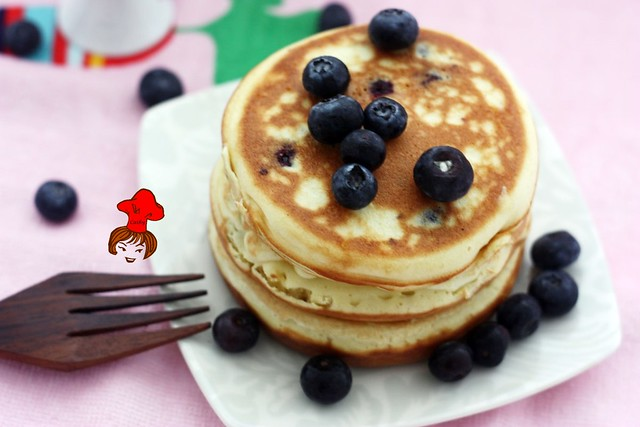 藍莓鬆餅 Blueberry pancake  3