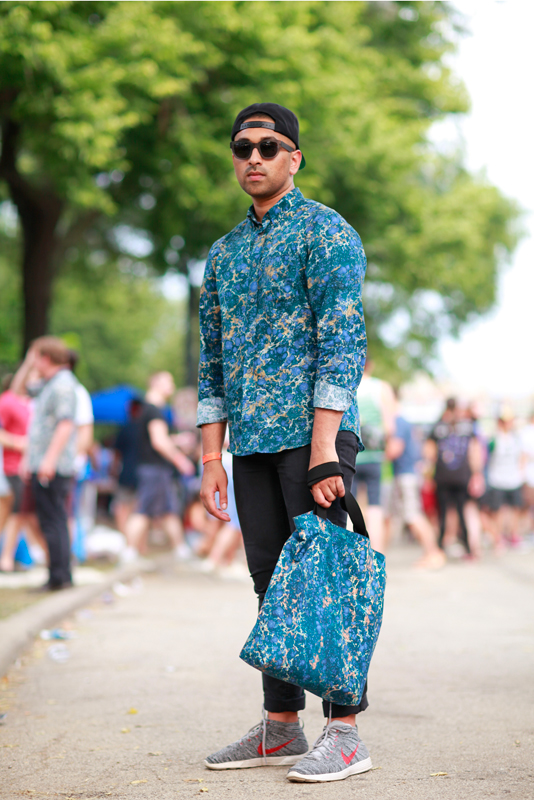 Tommy_p4k Chicago, men, Pitchfork Music Festival, Quick Shots, street fashion, street style, Union Park