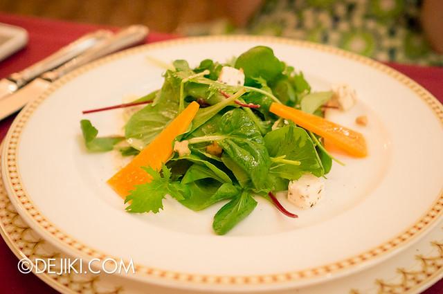 Tokyo DisneySea - Mediterranean Harbor / Magellan's / Salad